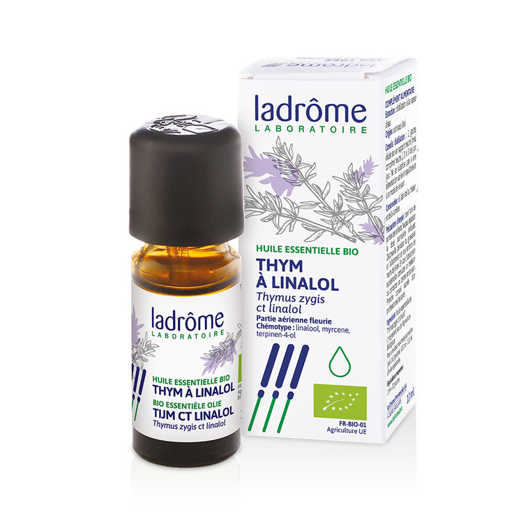Huile essentielle bio de Thym à linalol Ladrôme - 10 ml 43318