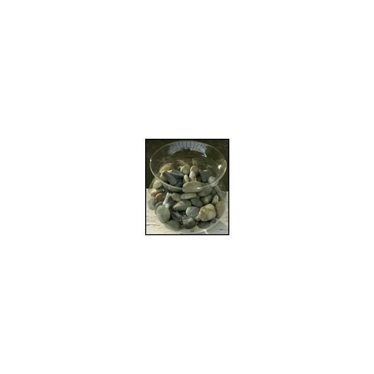 Galets gris roulé 20/50 - 25 kg 43329