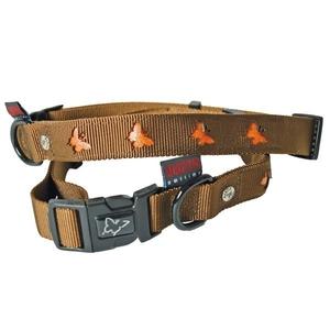 Collier chien papillons 16mm / 30-45cm marron