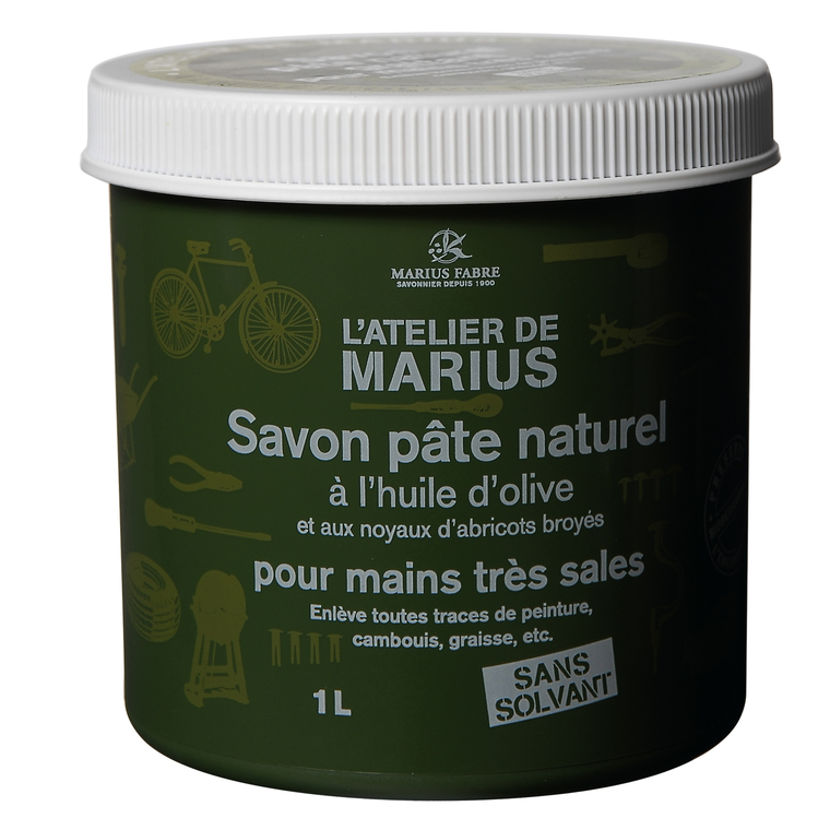 Savon pâte naturel grattant 1 L 439654