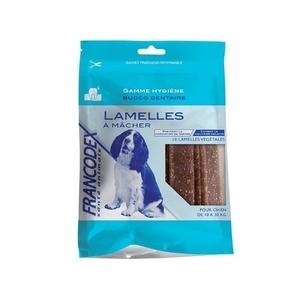 Lamelles pour chiens 10-30kg Francodex X10