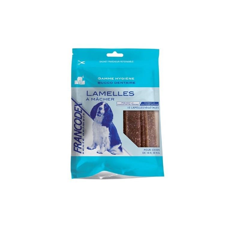 Lamelles chiens 10-30kg Francodex X10 440029