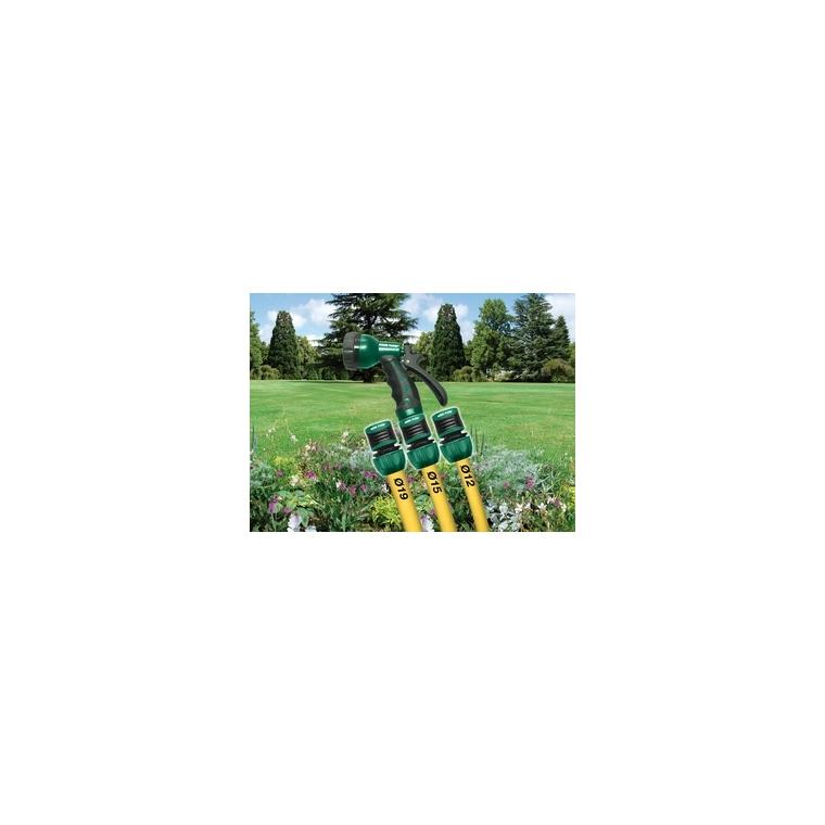 Raccord rapide stop universel arrosage D 12/15/19 mm 440393