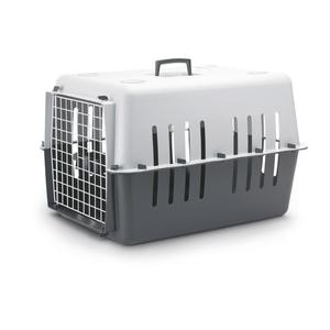 Panier de transport plastique Pet Carrier gris 66cm