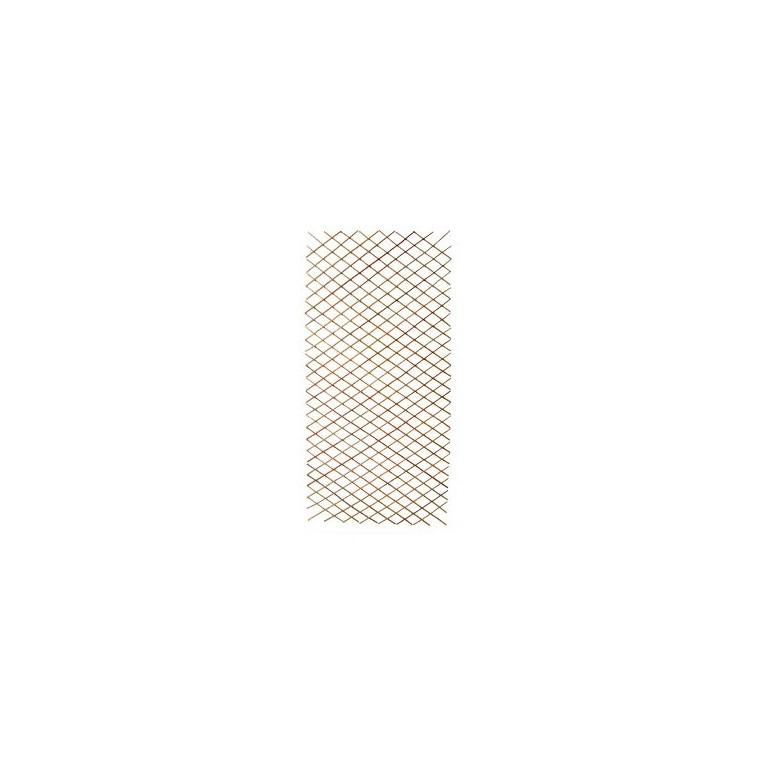 Treillage diamant en bois d'acacia, 110x180 cm 441958