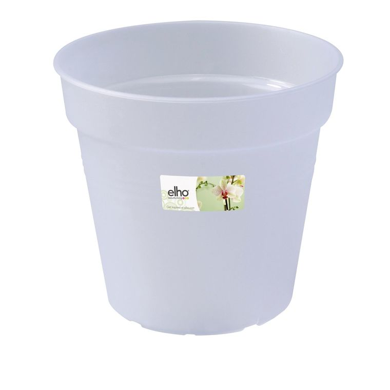 Pot D15 cm provence orchidées Elho transparent 446439