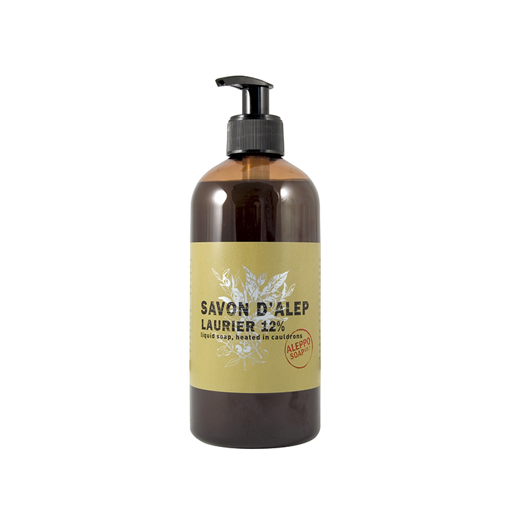 Savon d'Alep liquide 500 ml TADE PAYS DU LEVANT 447658