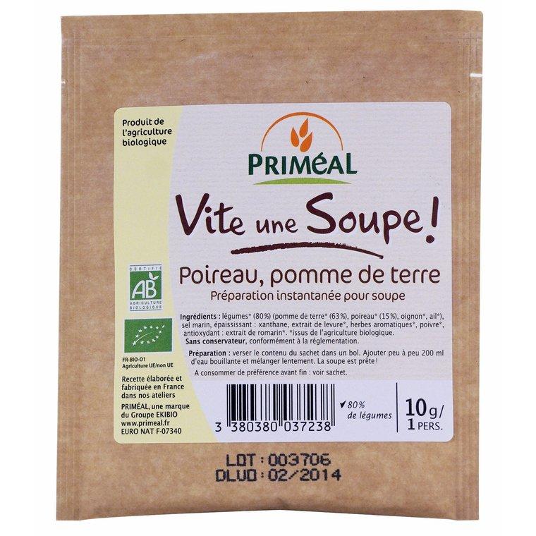 Soupe poireaux pommes de terre instantanée 10 g 447981