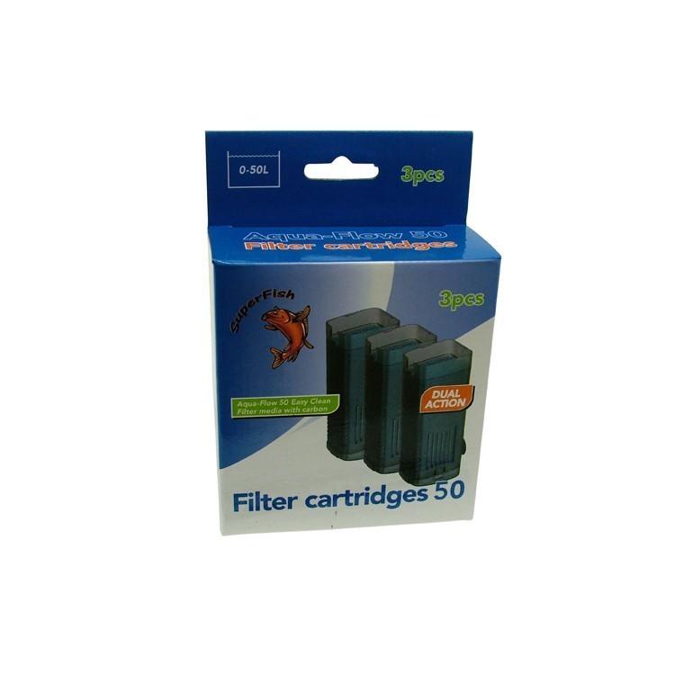 Cartouche de filtration aqua flow 50