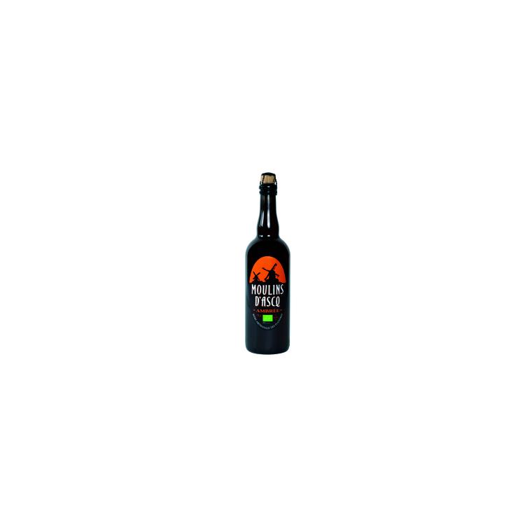 Bière ambrée bio 75 cl 450952