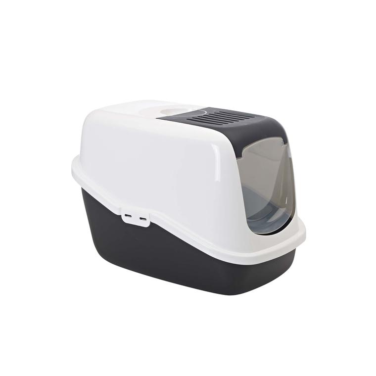 Maison de toilette Nestor Savic blanc noir 45201