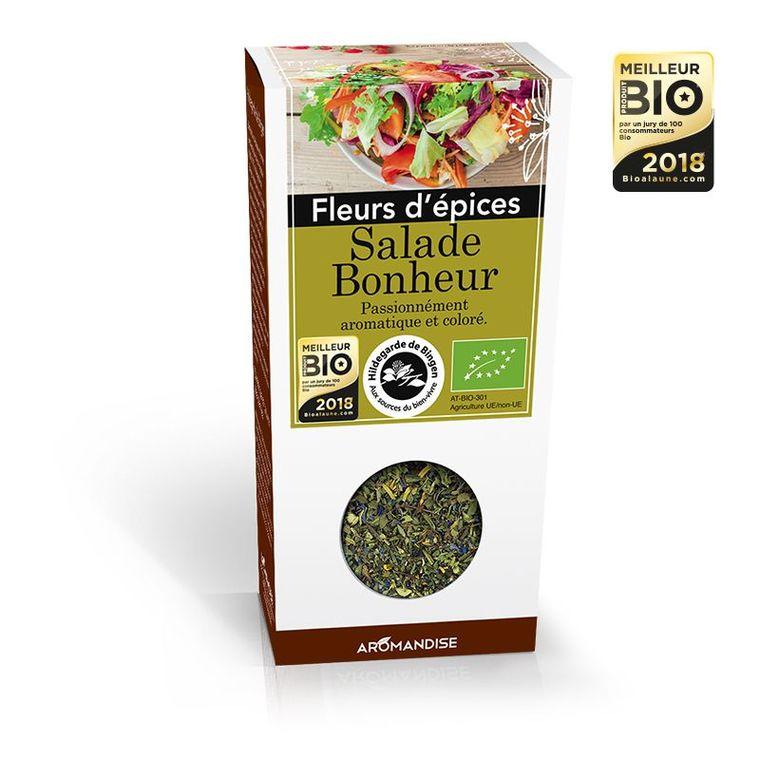 Fleurs d'épices salade bonheur bio HILD GAR