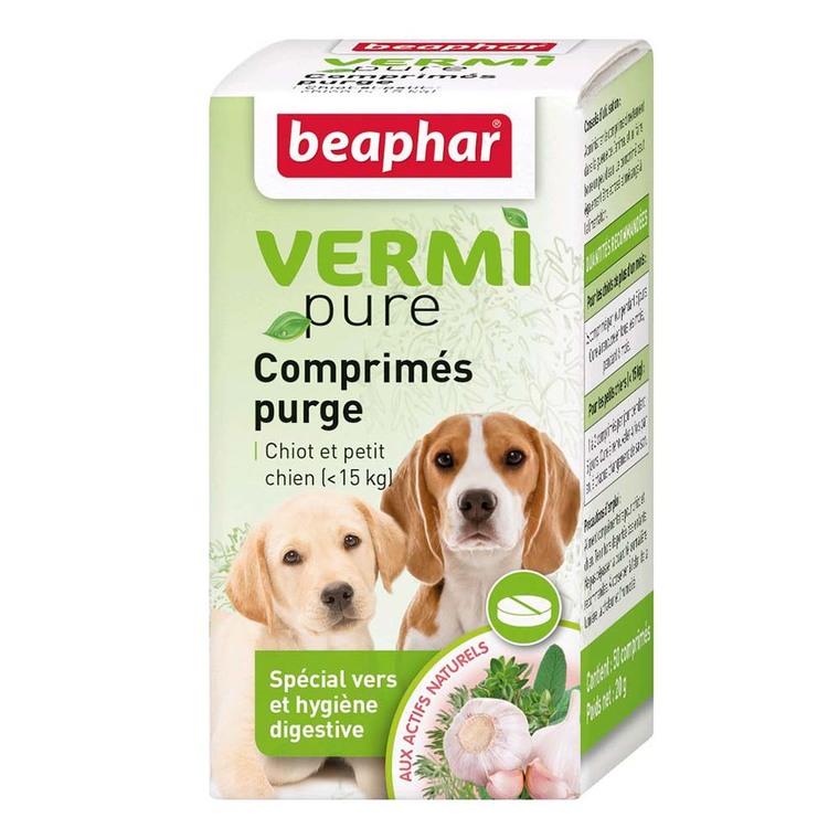 Comprimés purge aux plantes chiens Beaphar 453638