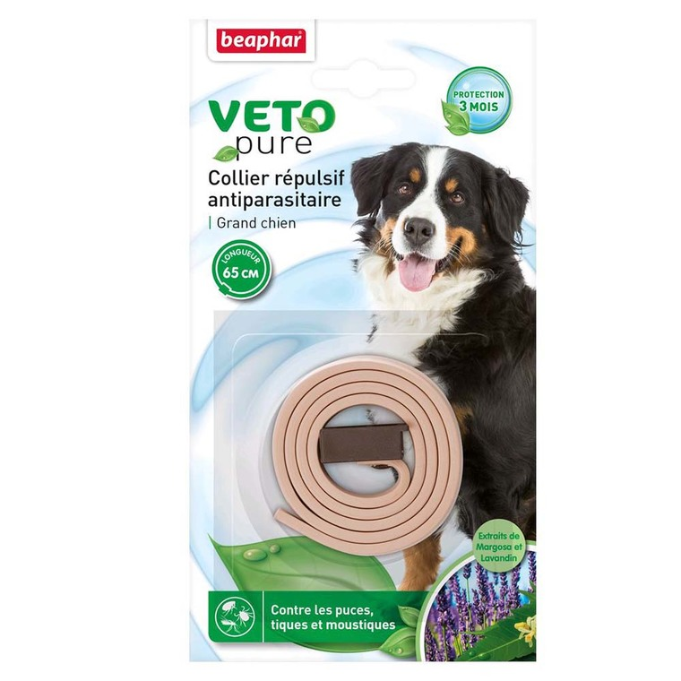 Collier insectifuge grand chien Beaphar 453641