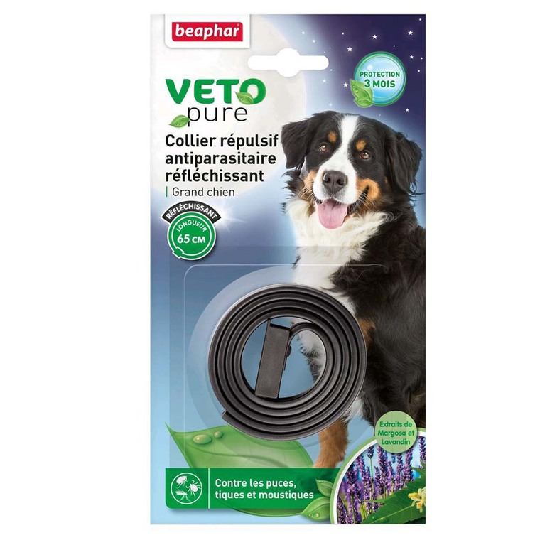 Collier insectifuge grand chien Beaphar 453642