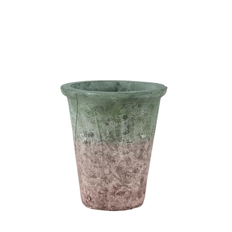 Cache-pot Antique couleur terracotta 462161