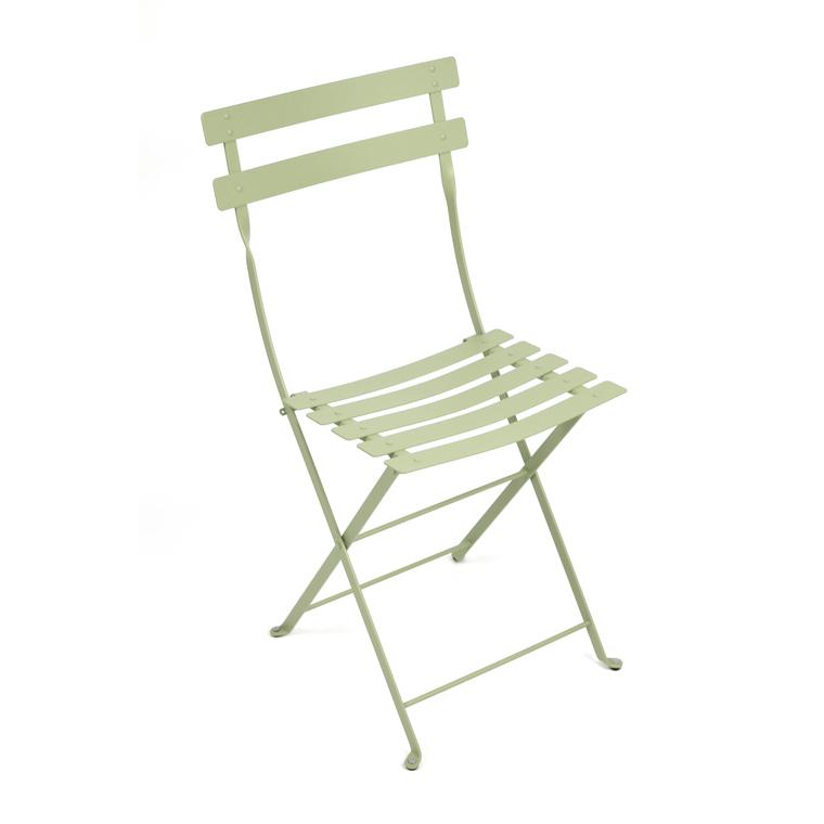 Chaise pliante d'extérieur couleur tilleul 463362