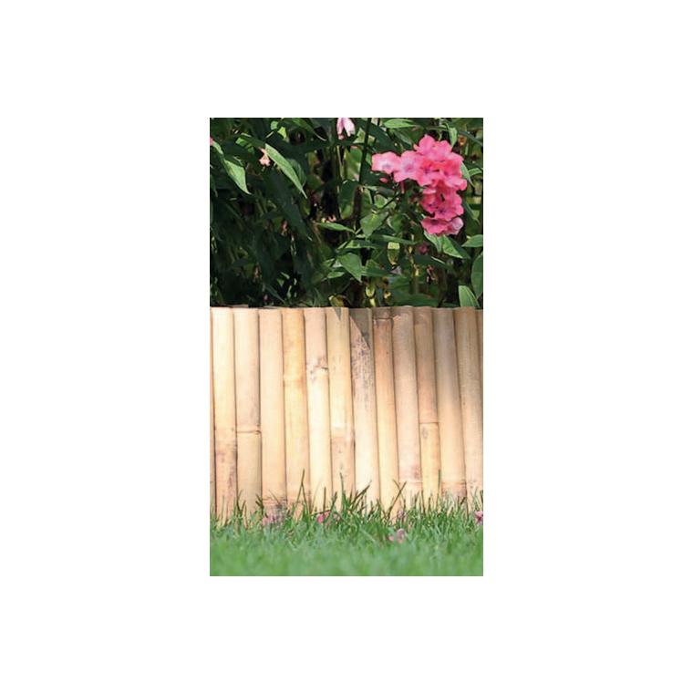 Bordure en bambou à planter, 35 x 100 cm