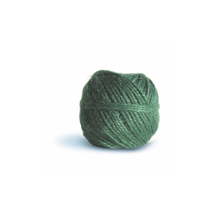 Pelote ficelle naturelle en jute Couleur menthe - 100 gr / 75 m 466532