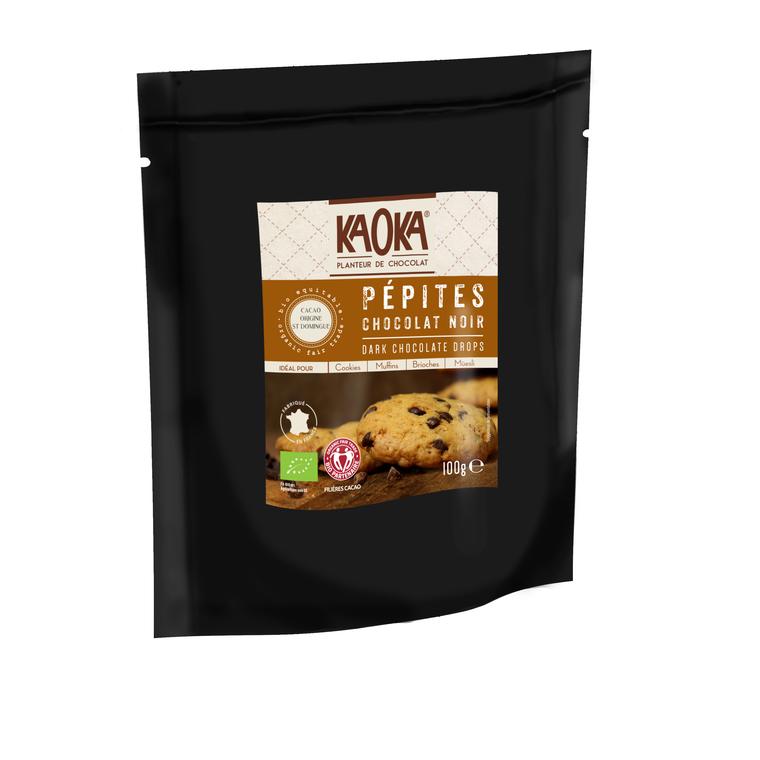 Sachet de Pépites de Chocolat noir 50% - 100 gr 47215