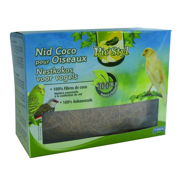 Nid en fibres de coco pour oiseaux tyrol 50 g 476607