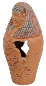 Décor aquarium urne egypte