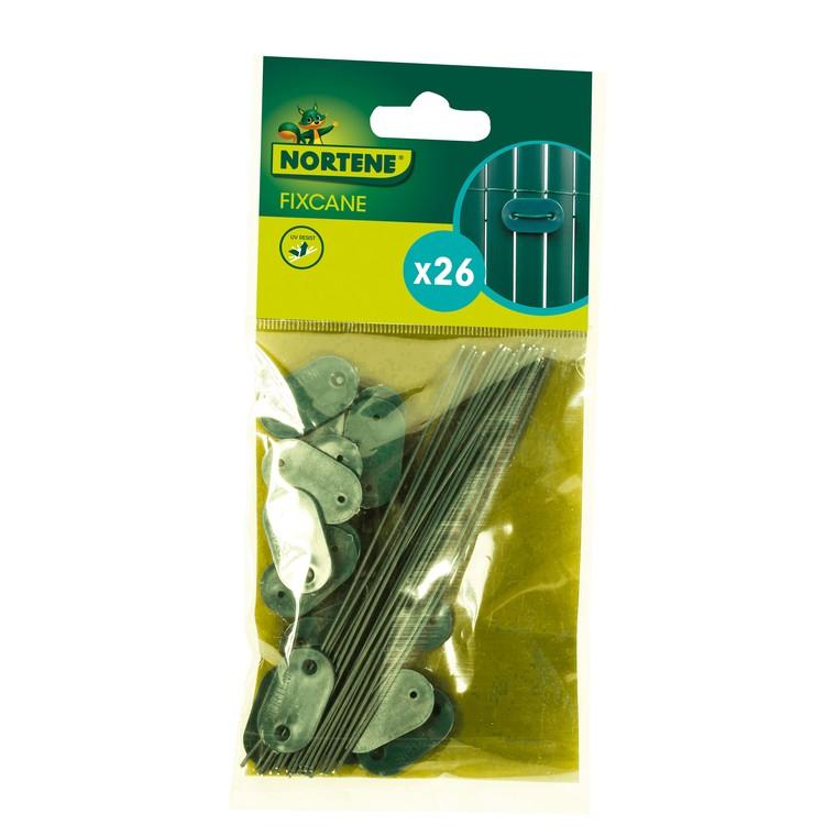 Fixcane vert, sachet de 26 pièces 480428