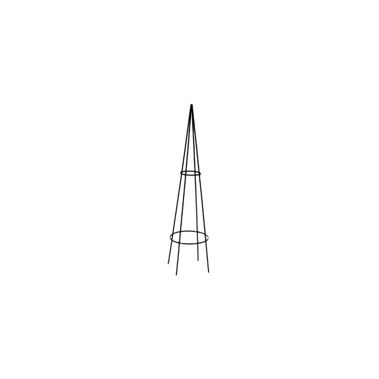 Colonne mini grimpante fer vieilli 1 m de hauteur 480625