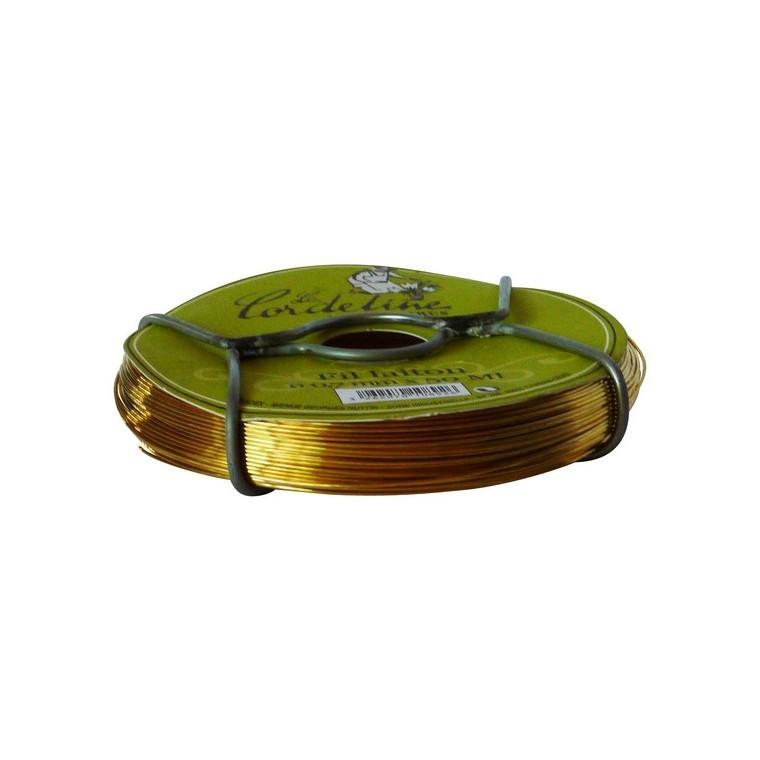 Bobinot fil laiton – 0,7 mm 50m 482255