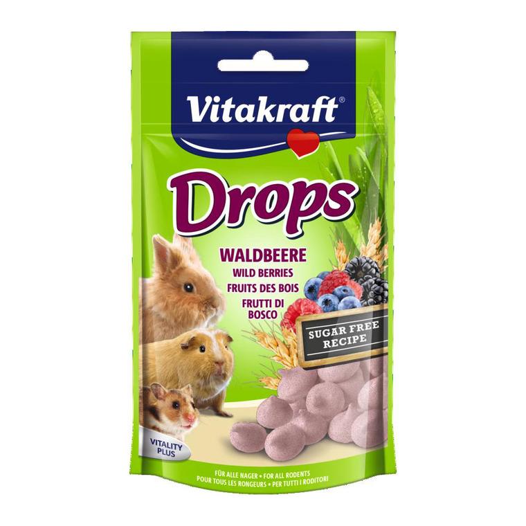 Drops Lapins nains fruits des bois VitakraftŽ 75g
