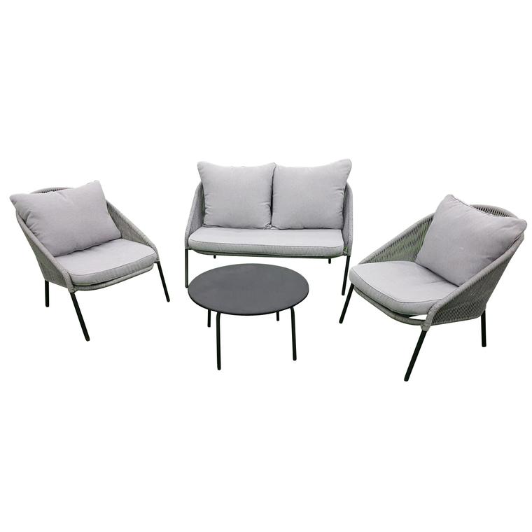 Salon bas Padro coloris gris 487266