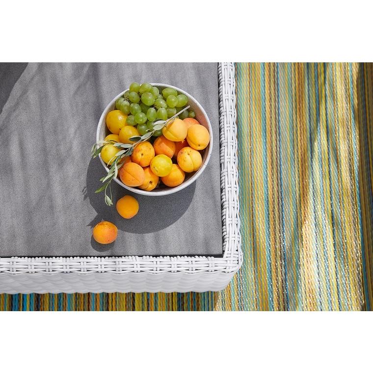 Salon bas Capella coloris gris 175 x 95 x 77 cm 487268