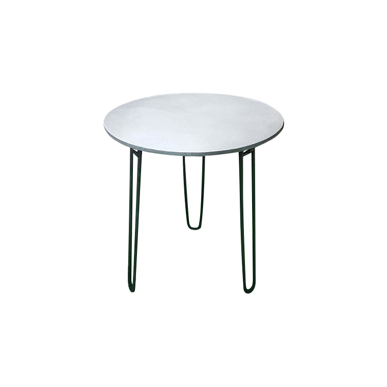 Table ronde Padro grise Ø 70 x 75 cm 487286