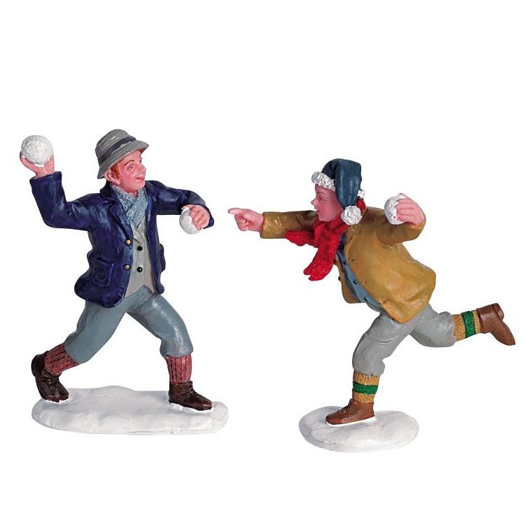 Bataille de boules de neige  9.7 x 4.2 x 6.1 cm 491863