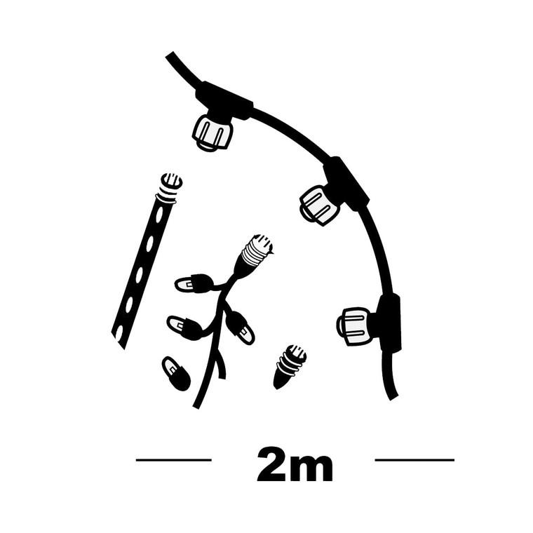 Collecteur 3 sorties raccordable 0,5 m 491990