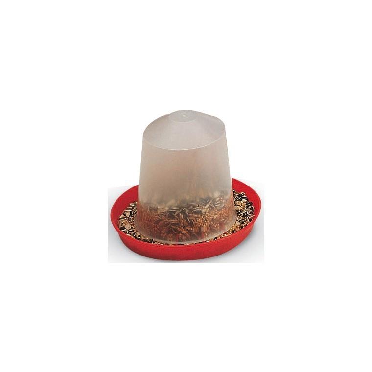 Mangeoire 1L graines pour volaille Savic 49205