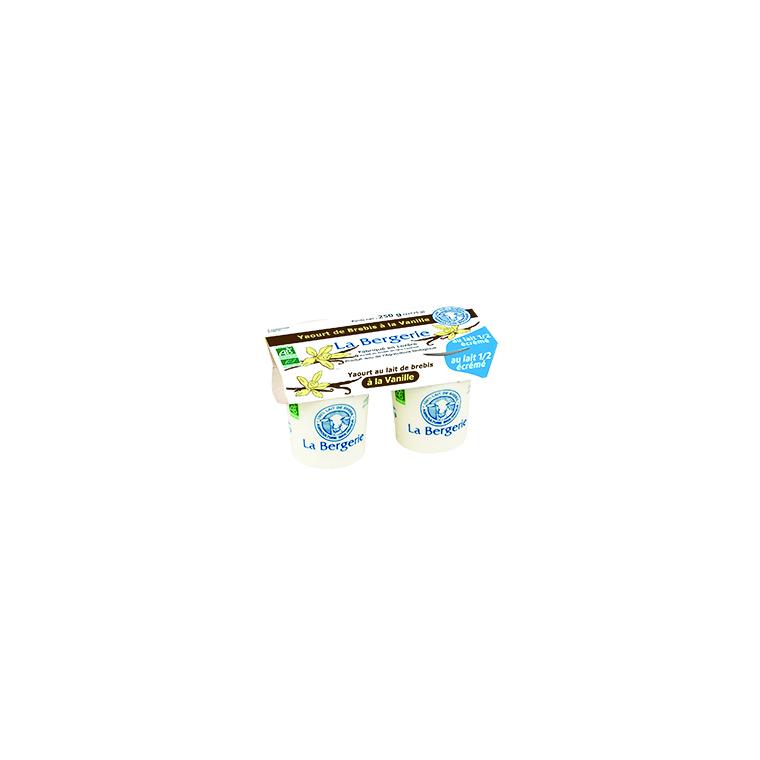 Yaourt brebis vanille demi-écrémé - 2 x 125 g 49299