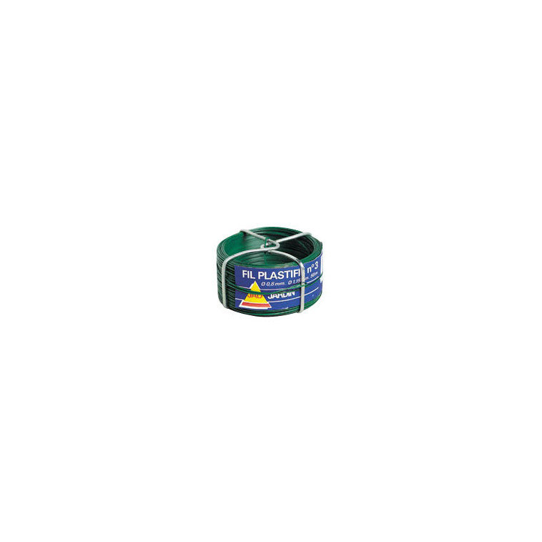 Fil plastifié vert n°5 494232