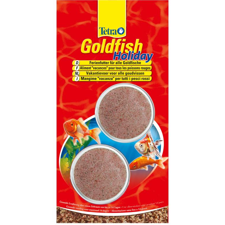 Tetra Goldfish Holiday 2 blocs x 12 g 494384