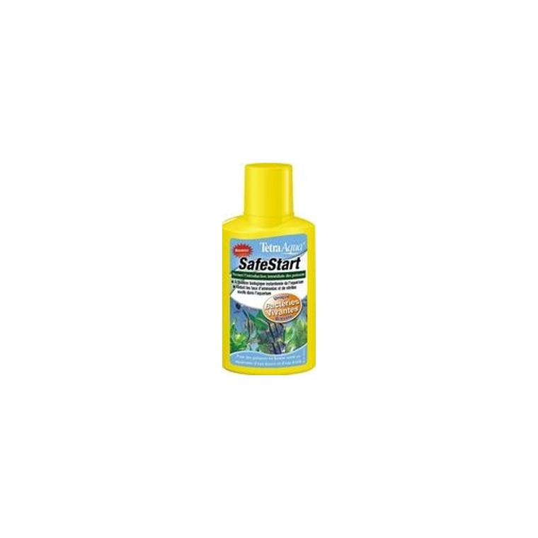 Ensemencement bactérien pour aquarium Tetra Safestart 100 ml 494959