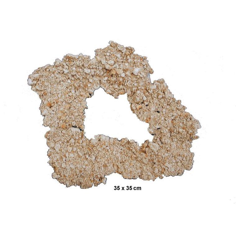Plateau Couronne Céramique 35x35 cm 495004