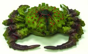 Décor aquarium diffuseur crabe 17cm