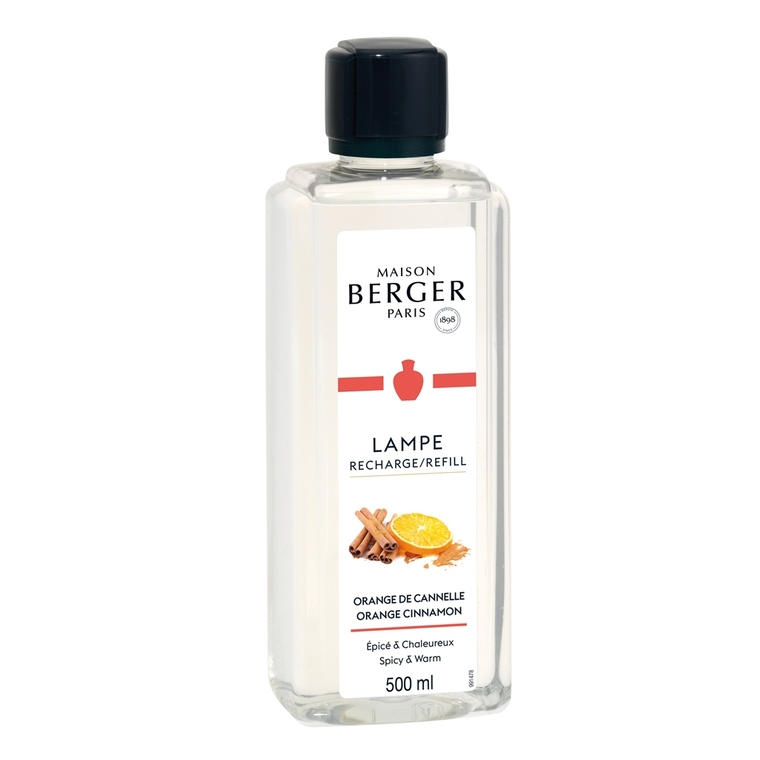 Parfum Orange de cannelle pour Lampe Berger 500 ml 49509