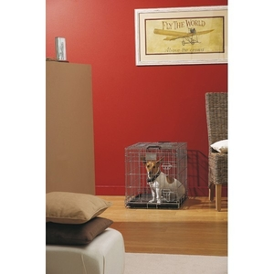 Cage transport chien Dog Residence 61cm Savic