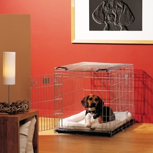 Cage transport chien Dog Residence 76cm Savic