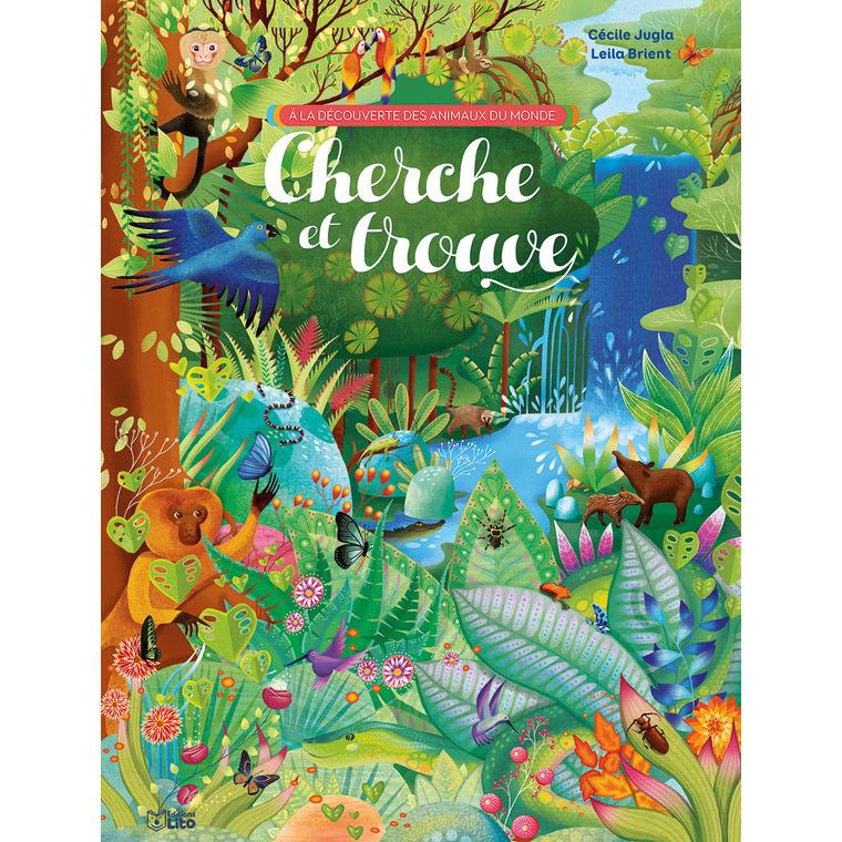 A La Decouverte Des Animaux Du Monde Cherche Et Trouve A La