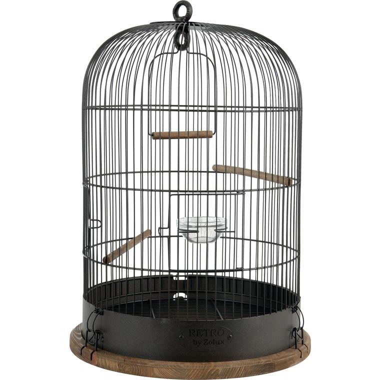Cage Pour Oiseux Retro Lisette Ø 35 Cm : Volières AUTRES MARQUES Animalerie    Botanic®