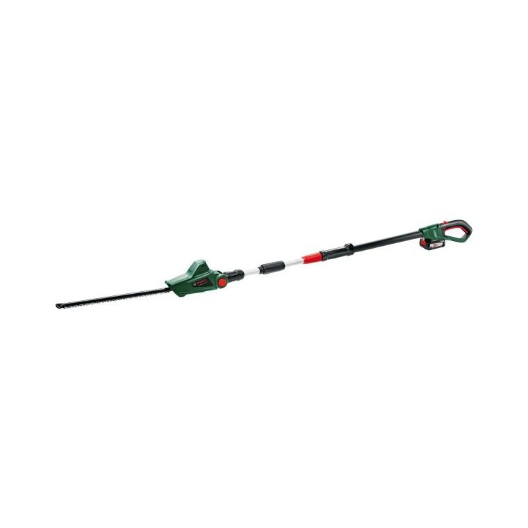 Taille-haies vert sur perche Bosch 18 V : Outils de ...