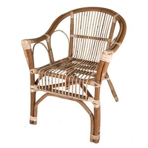 Chaise en rotin naturel de 60 x 66 x 86 cm 500720