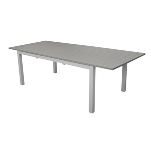 Table caméline brillante à rallonge 130/180 x 84 x 74 cm 501748